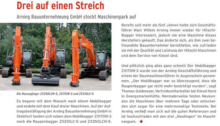 Bauunternehmen Ochtrup pressearchiv arning bauunternehmung gmbh steinfurt