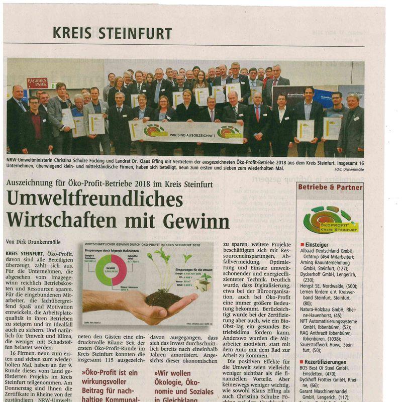 Bauunternehmen Ochtrup presse aktuelles arning bauunternehmung gmbh steinfurt